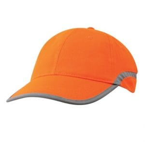Hi Vis Reflector Custom Cap