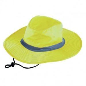 Wide Brim High Vis Hat